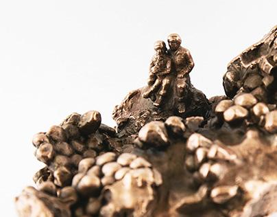 Gobi Desert Diorama