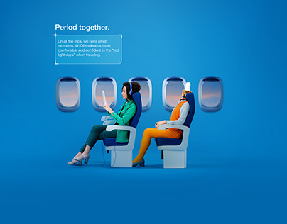 PERIOD TOGETHER | ADVERTISING CAMPAIGN