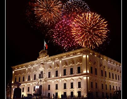 Auberge de Castille, Valletta,Malta by www.maltaphotos.