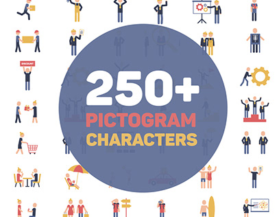 Pictogram Characters