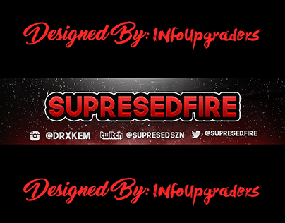 SupresedFire YouTube Banner