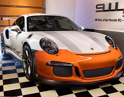 Light Painting Porsche 991 GT3RS