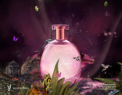 La Perfum Advertisement Print Design