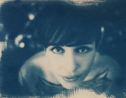 Cyanotype - 30x40 Etival Paper - For Sale