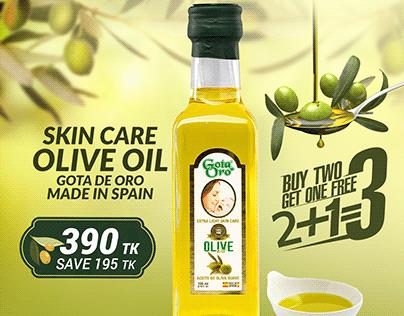 Olive oil offer banner