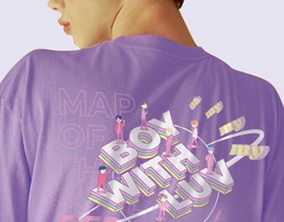 BOY WITH LUV by BTS | T-Shirt idea