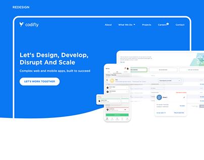 Codifly - Website redesign