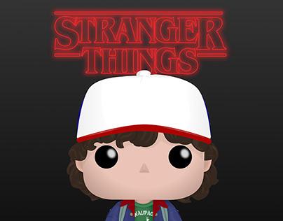 FunkoPop: Stranger Things - Dustin