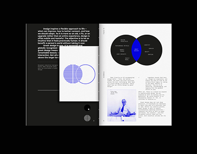Great Design is a Force of Nature. Conceptual Book.