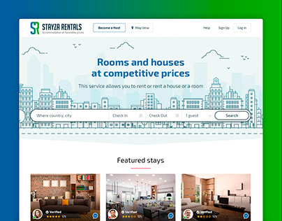 Online rental site for private housing