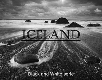 Iceland - Black and White