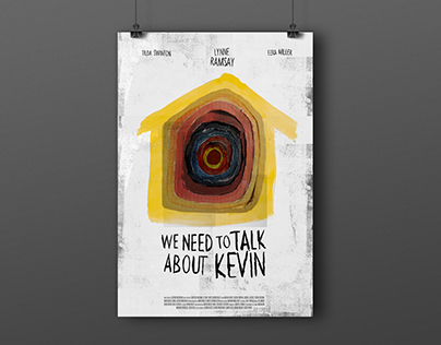 Afiche - We need to talk about Kevin