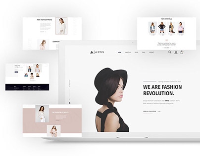 Artis - Fashion/E-Commerce Landing Page