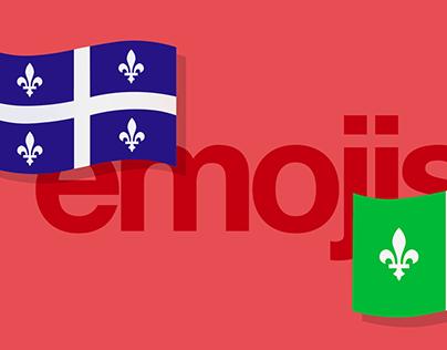 Emojis québécois et franco-ontariens