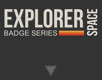 Space Explorer Badges