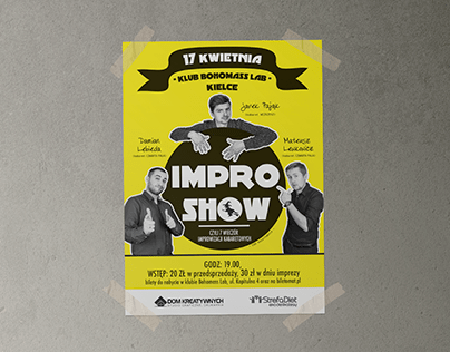 Poster comedy impro