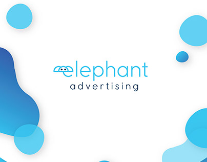 """ELEPHANT"" advertising - logo design & branding"