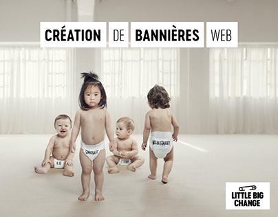Bannières web Little Big Change