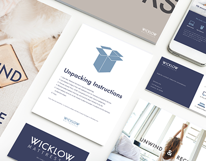 Wicklow Mattresses - Branding