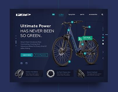 IZIP E-bike UI / UX design