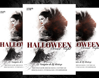 Halloween - Obscure Night Flyer Template