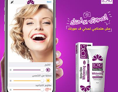 Social Media Design for cosmetics