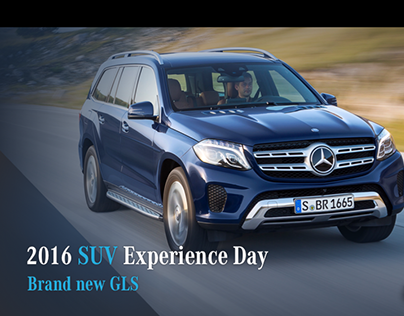 Mercedes-Benz Taiwan SUVs launching conference slide