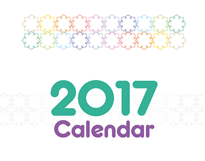 Calendar 2017 التقويم الميلادي