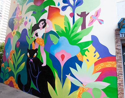 The Rebellious spirit / Mural