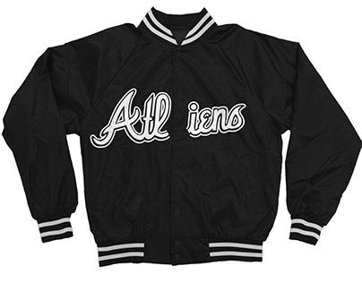 Satin ATLiens Innovation look Style Cotton Jacket