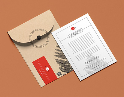 Free Kraft Envelope With Invitation Mockup