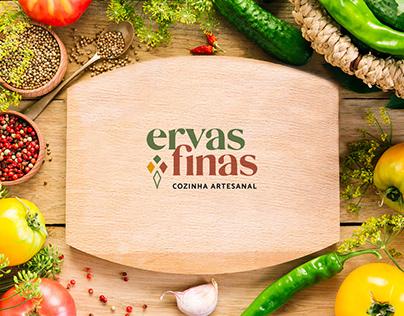 Ervas Finas - Logo / Identidade Visual