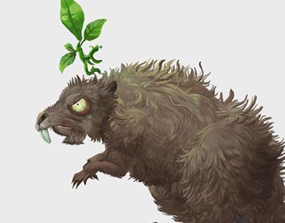 Beaver/Evil beaver - 2D animation pack