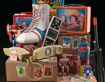 UNBOXING MEMORIES: All Things 80's (CGI)