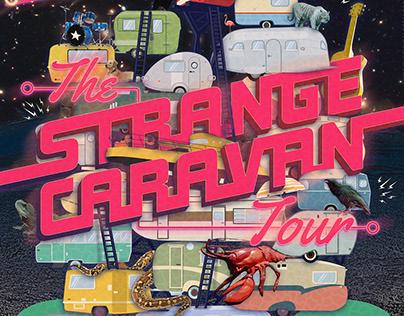 The Strange Caravan Tour Poster