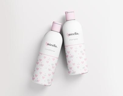 Mirella Cosmetics Branding
