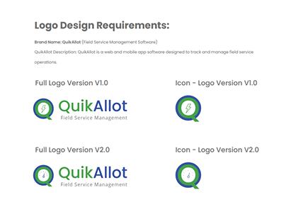 Quik allot logo redesign