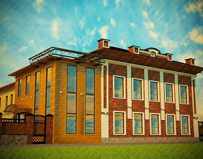 Реконструкция здания по ул. Красноармейская, ДРЦ Русски
