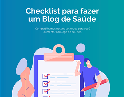 Ebook - Checklist para fazer um Blog de Saúde (Santé)