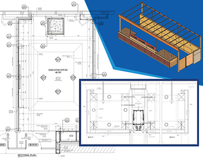 Millwork Drawings for Retail Shop Interior Design
