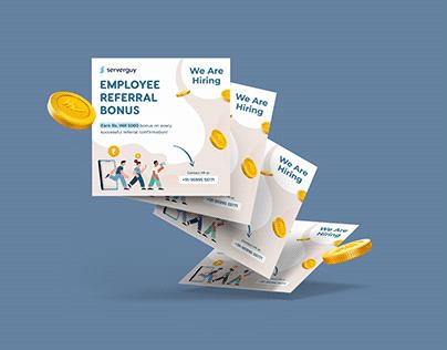 Emplyee Referral Bonus - SMM