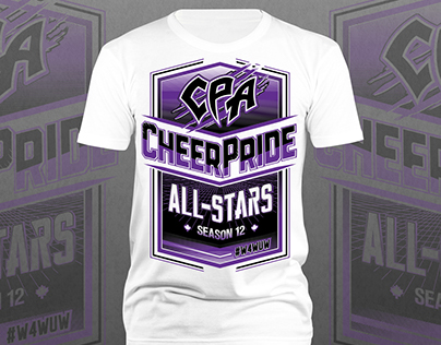 CheerPride All-Stars Season 12 Program Shirt