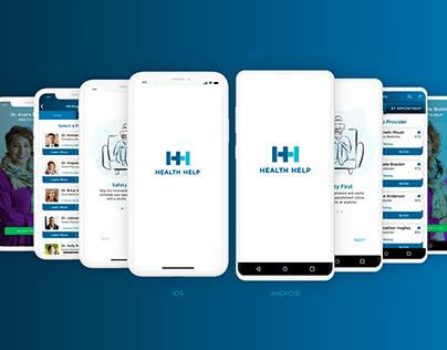 Health Help // native app