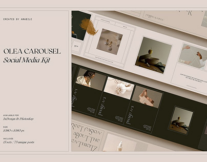 Olea Carousel - Social Media Kit