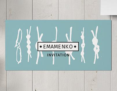 logo and corporate identity for the brand EMAMENKO