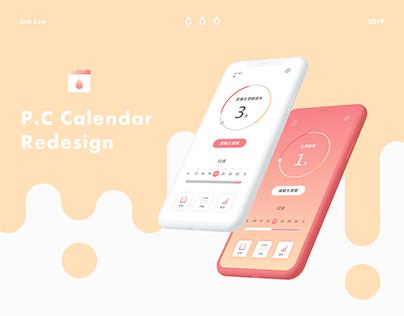 P.C calendar Redesign