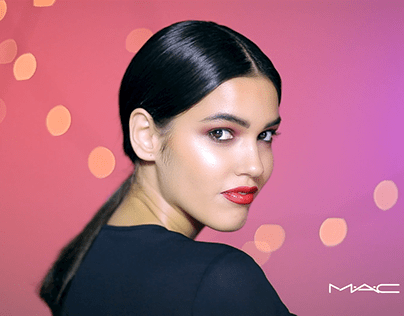 Holidays makeup tutorial - MAC cosmetics x Namshi