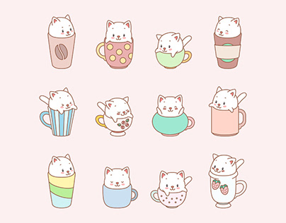 Cup kittens