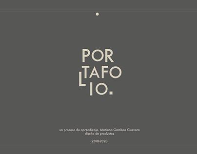 Portafolio 2018-2020