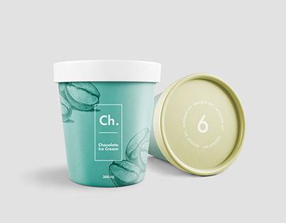 Ice Cream Jar